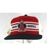 Los Angeles Anaheim Angels Red/Black/White Baseball Cap Fitted 7 3/8  - £20.21 GBP