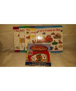 Richard Scarry Gift Set, Big Apple Mystery, Let's Count, Huckle's Good M... - $4.99