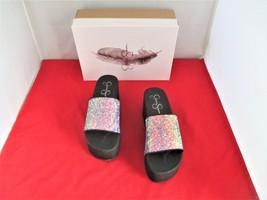 Jessica Simpson Faille Slide Sandals $69 Pink - US Size 8 - $39.99