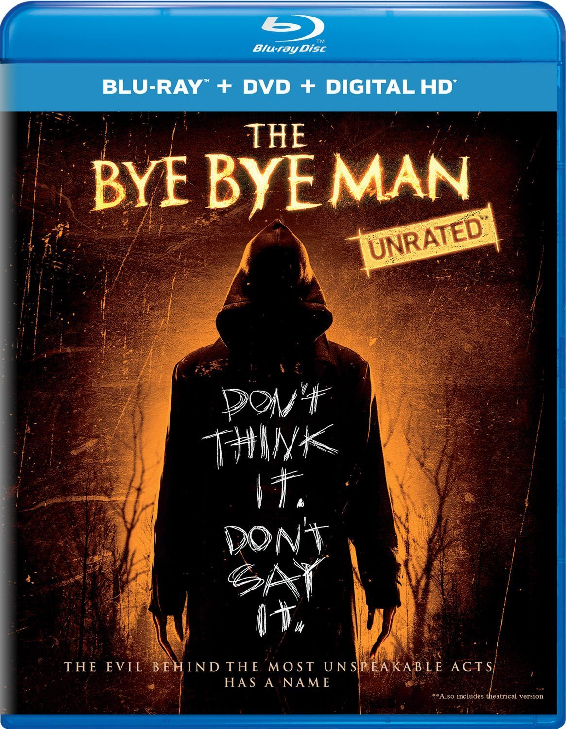The Bye Bye Man (2017, Blu-ray/DVD)