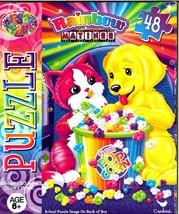 Liza Frank Rainbow Matinee - Fresh Pop Corn - 48 Pieces Jigsaw Puzzle - $9.89
