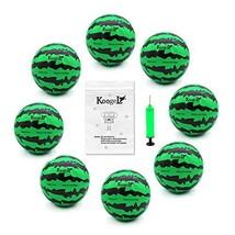 Koogel 8 PCS Watermelon Ball Needle Kit,Beach Balls 6.2 Inch Water Bounc... - $9.10