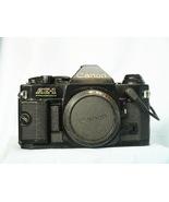 Canon AE-1 Program Pro 35mm SLR Camera c/w Data Back -RARE BLACK VERSION... - $150.00