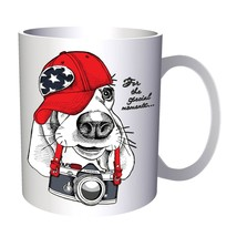 Dog Photographer Enjoy Moment 11oz Mug z463 - $11.98