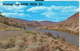 Canada, Greetings from Cache Creek, B.C. 1960s unused Postcard  - $4.99