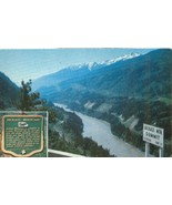 Canada Jackass Mountain Fraser Canyon, BC unused Postcard  - $4.99