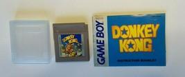 Donkey Kong Game Boy Nintendo cartridge + case + manual / insert - USED - $87.04
