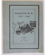Marlow New Hampshire 1961 Annual School Report Cameron cover - $9.00