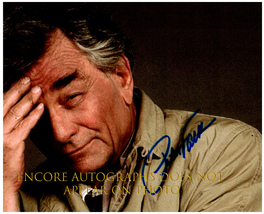 PETER FALK  Authentic Original  SIGNED AUTOGRAPHED PHOTO w/ COA - $85.00