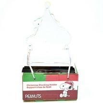 Kurt S Adler Peanuts Snoopy with Presents & Christmas Tree Stocking Holder image 3