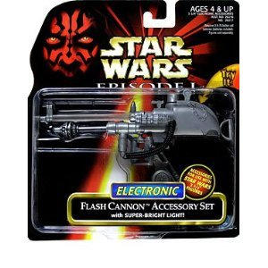 Star Wars Episode 1 Electronic Flash Cannon Accessory set