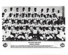1969 NEW YORK METS 8X10 TEAM PHOTO BASEBALL MLB PICTURE NY WORLD CHAMPS - $3.95