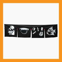 sushi noren curtain japanese traditional printing shop door restaurant b... - $22.50