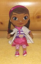 "Doc McStuffins Disney Plush 9"" Doctor Dottie in Lab Coat with Stethoscope - $6.79"
