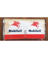 Original MOBILOIL Flying Pegasus 5 Qt Oil Can Tin Can Wrap Label - $29.99