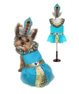 CLEOPATRA DOG COSTUMES - Dress Your Dogs as Jeweled Egyptian Princess Ou... - $44.44+