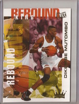 1994-95 Fleer Ultra Rebound King Dikembe Mutombo #4 Basketball Card - $3.75
