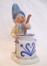 "Goebel Co Boy ""Mike The Jam Maker"" Gnome  - $185.00"