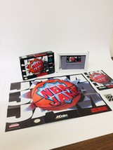 Super Nintendo SNES NBA Jam Game Complete CIB w/ Game, Box, Manual, Poster - $24.70