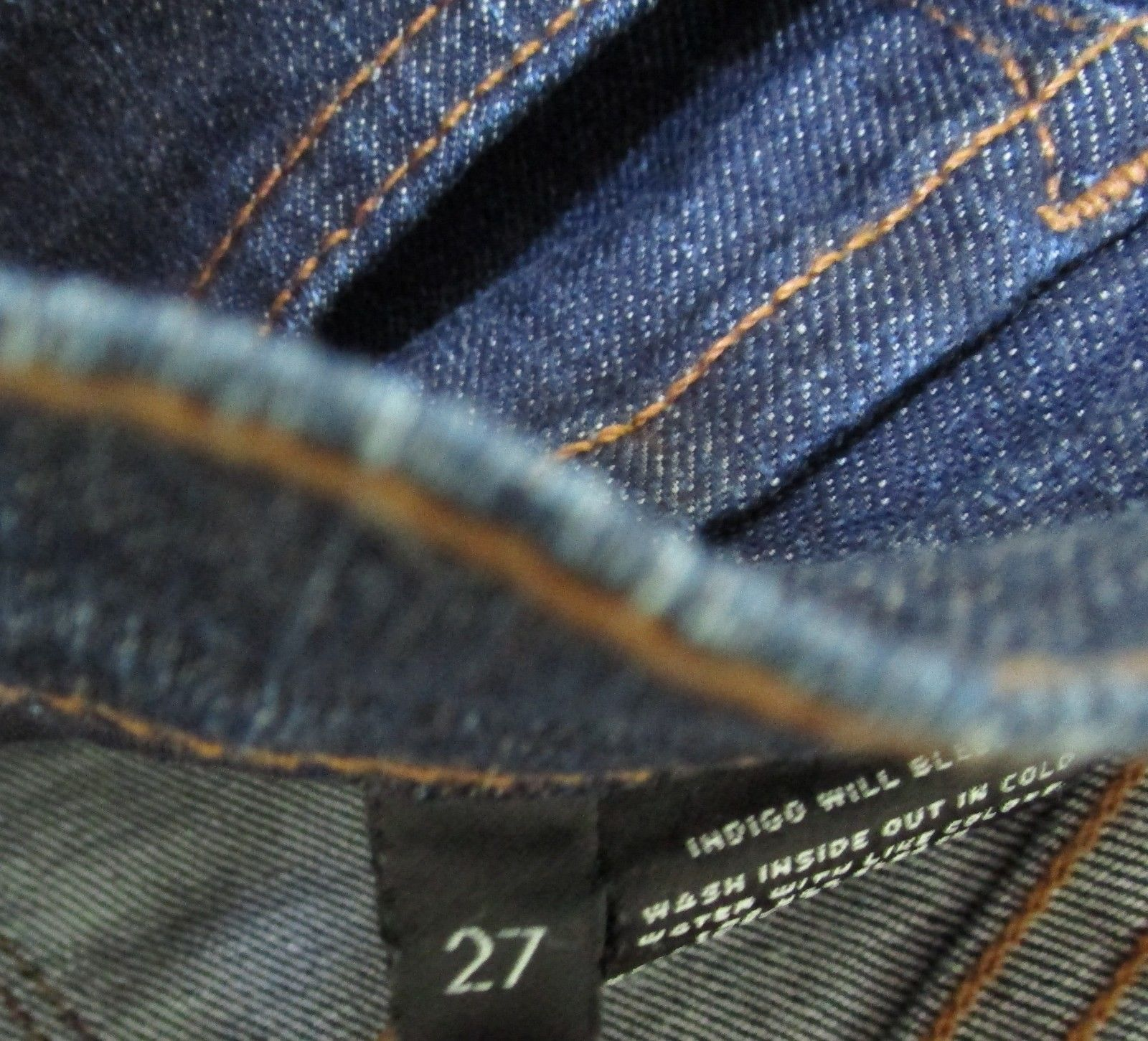 "J BRAND Women's Dark Denim Skinny Leg ""Pure"" 5 Pocket Jean Size 27 image 6"