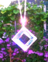VIOLET FLAME ANGEL PORTAL Crystal Healing KARMA CLEANSING Chakra Past Li... - $129.00