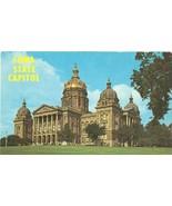 Iowa State Capitol, Des Moines, Iowa, unused Postcard  - $3.99