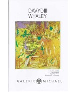 DAVYD WHALEY Galerie Michael Flyer - $3.95