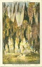 The King's Throne in the Palace, Carlsbad Cavern, New Mexico, 1920s Postcard - $3.99