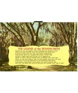 The Legend of the Spanish Moss, unused Postcard  - $3.99