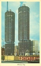 Marina City, Chicago, Illinois 1960s unused Postcard - $4.99