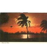 Moon over Miami, 1971 used Postcard - $3.99