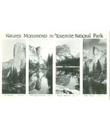 Natures Moments in Yosemite National Park, RPPC Real Photo unused Postcard  - $9.99
