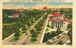 North Charles Street Avenue, University Baptist Church, Baltimore, MD, p... - $6.77