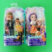 Enchantimals Hixby Hedgehog Doll and Danessa Deer Lot 2 Sealed Mattel - $25.00
