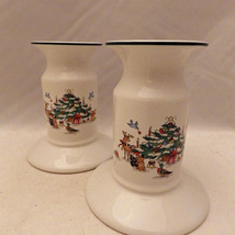 Ming Pao Woodland Christmas exclusive design - a pair of Candleholders -... - $7.43