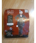 Disney Nightmare Before Christmas Lady Jack Skellington Adult Plus XXL 6... - $39.55