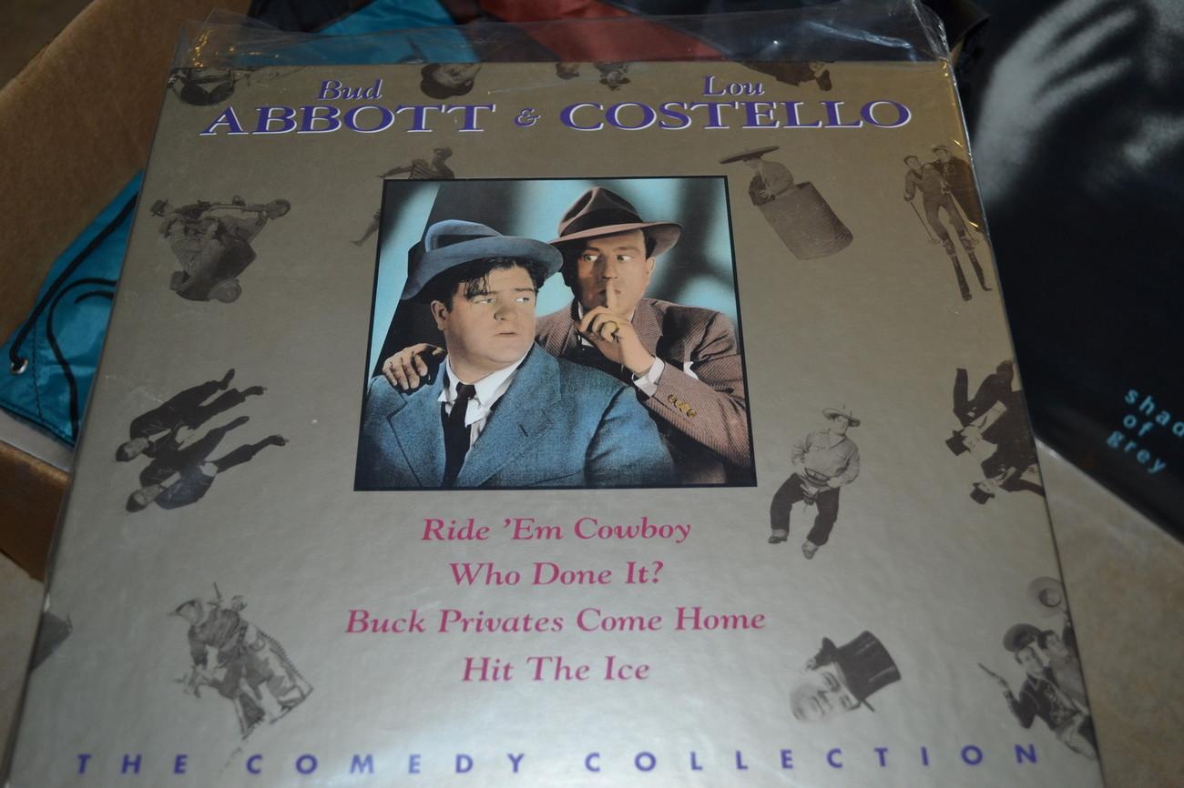 Bud Abbott & Lou Costello Comedy Collection [NTSC] [41556] Laserdisc