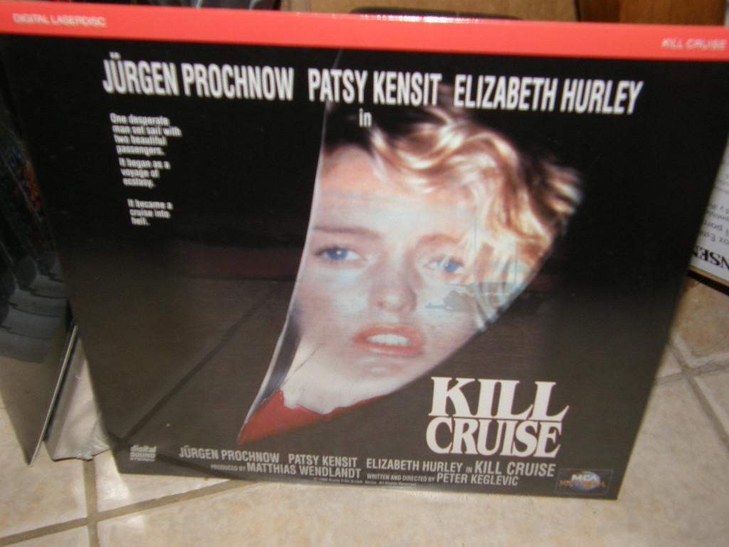 Kill Cruise (Der Skipper) (1990) [NTSC/P&S/SRD] [41405] Laserdisc