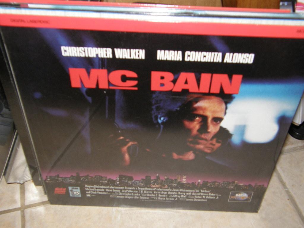 McBain (1991) [NTSC] [41248] Laserdisc