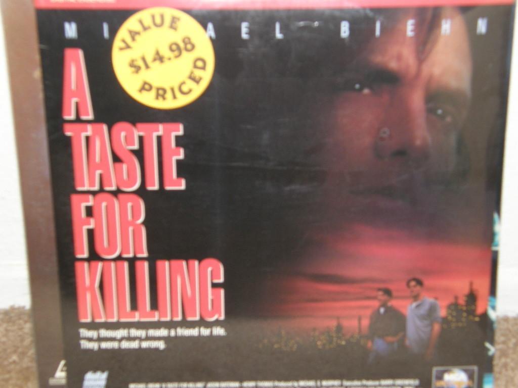 Taste For Killing, A (1992) [NTSC/+CAV] [41404] Laserdisc