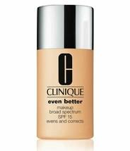 Clinique Even Better Broad Spectrum SPF15 Makeup Foundation Butterscotch... - $18.69
