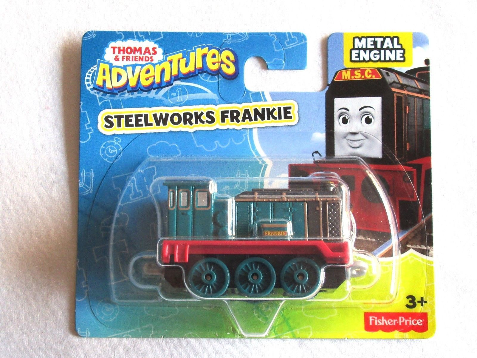 Primary image for Fisher Price Thomas & Friends Adventures Steelworks Frankie Metal Train Engine