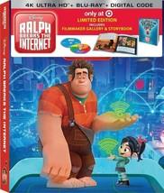 Ralph Breaks the Internet (Ltd. Edition Filmmaker Gallery & Storybook) 4K UHD Bl