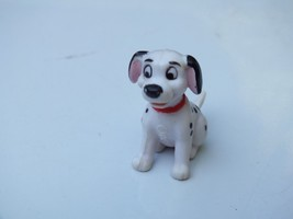 Vintage Disney 101 Dalmatians Sitting Puppy Dog Red Collar 1 1/2 Inch Fi... - $7.42