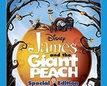 James and the Giant Peach (Blu-ray/DVD, 2010, 2-Disc Set, Special Edition) New