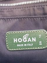 Hogan Women Green Leather Hobo Shoulder Purse Bag Made in Italy image 6