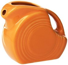 Fiesta 5-Ounce Mini Disk Pitcher Tangerine Retired 1st Quality - $45.00