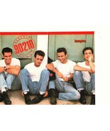 Luke Perry Jason Priestley Jamie Walters teen magazine pinup clipping jeans - $5.00