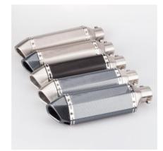 Exhaust Pipe Muffler For KTM Benelli Honda Kawasaki Yamaha Ducati Slip-on - $100.79