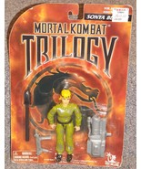 1996 Mortal Kombat Trilogy Sonya Blade Figure New In The Package - $29.99